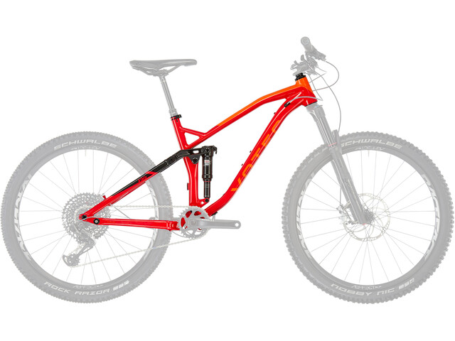 VOTEC VMS Framekit Frame Set red-black